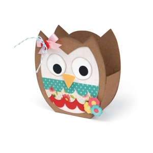 Bag, Owl by Lori Whitlock