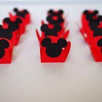 Forminhas Brigadeiros Mickey