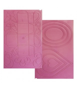 Placa de Vincar Caixa, Borboletas e Formas Ulti-bags para Ultimate Pro