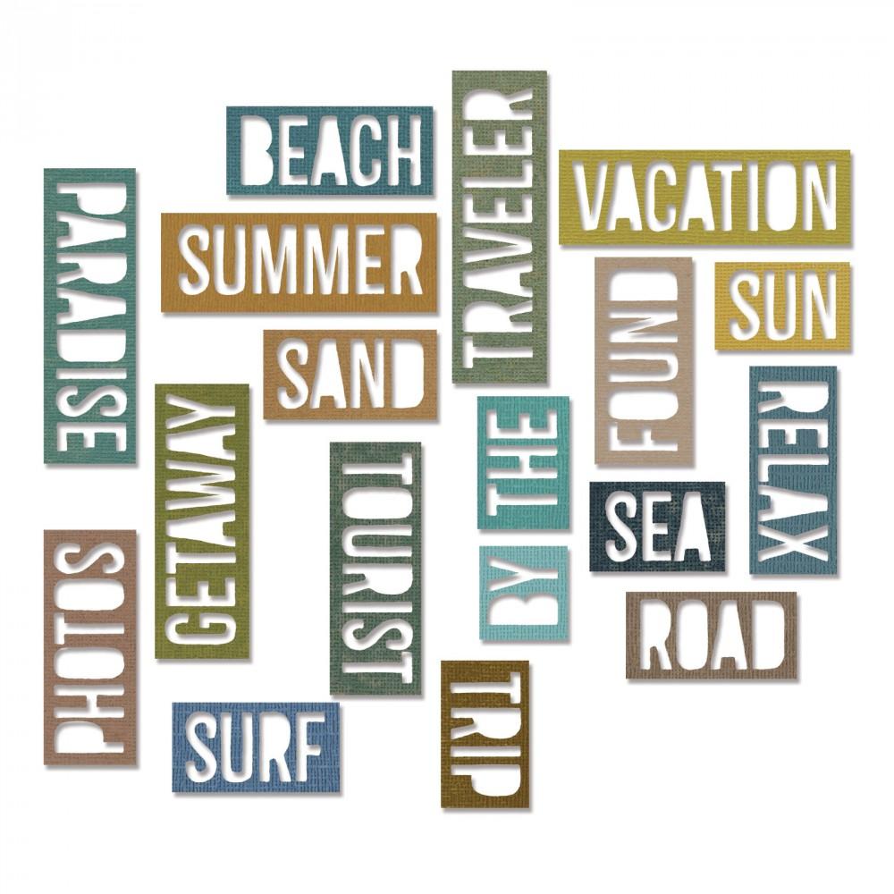 Vacation Words: Block