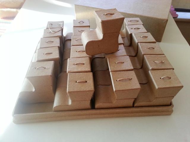 Conjunto Caixas Miniatura Bota
