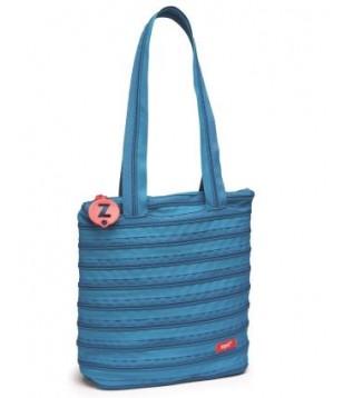 Premium Tote Bag (Tango) Artic Cyan & Blue