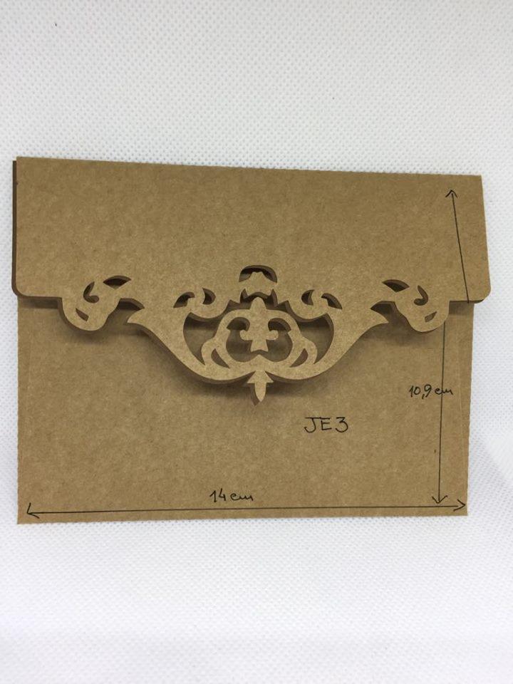 Envelope Kraft JE3