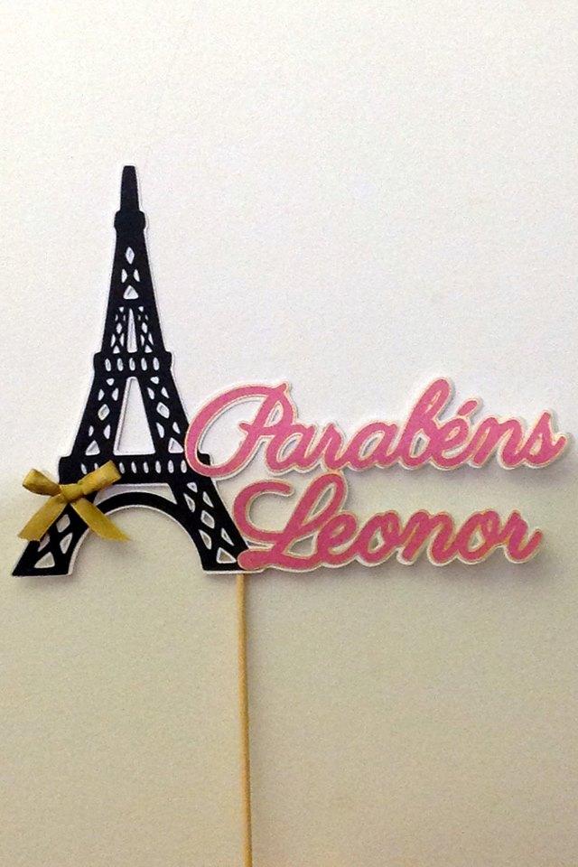 Topper Torre Eiffel Nome