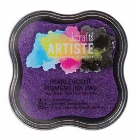 Pearlescent Pigment Ink Pad - VIOLET