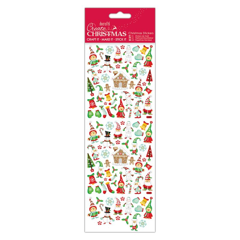 Christmas Stickers - Lapland