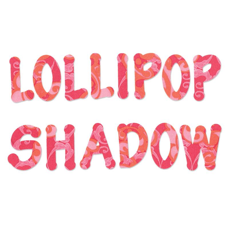Lollipop Shadow Capital Letters