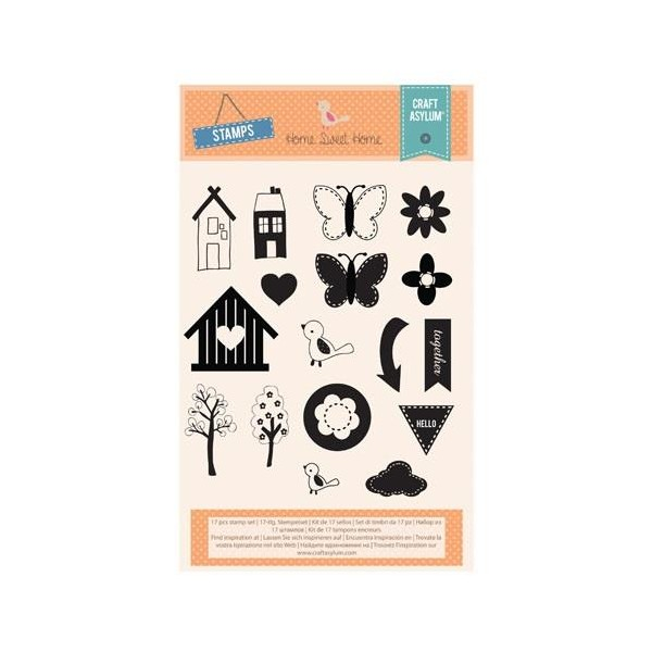 Home Sweet Home  Clear Stamps