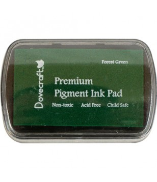 Premium Pigment Ink Pad FOREST GREEN