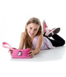 """Bolsinha de mão """"Taltal"""" Pink & Rose Pink"""