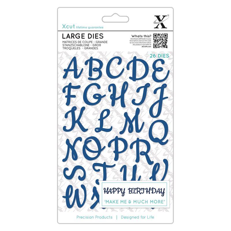 Script Alphabet Upper Case