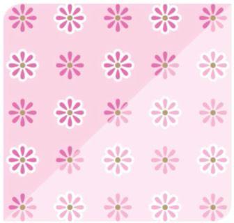 Flor Ice Rosa Choque / Rosa Claro