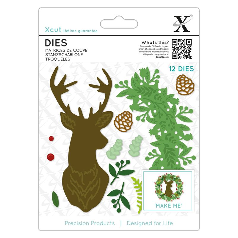 Woodland Stag Wreath