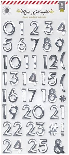 Foil Contdown Numbers