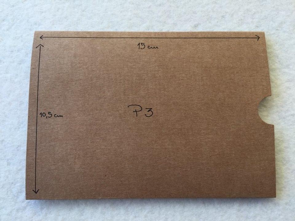 Envelope Kraft P3
