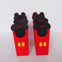 Caixas para Pipocas Mickey