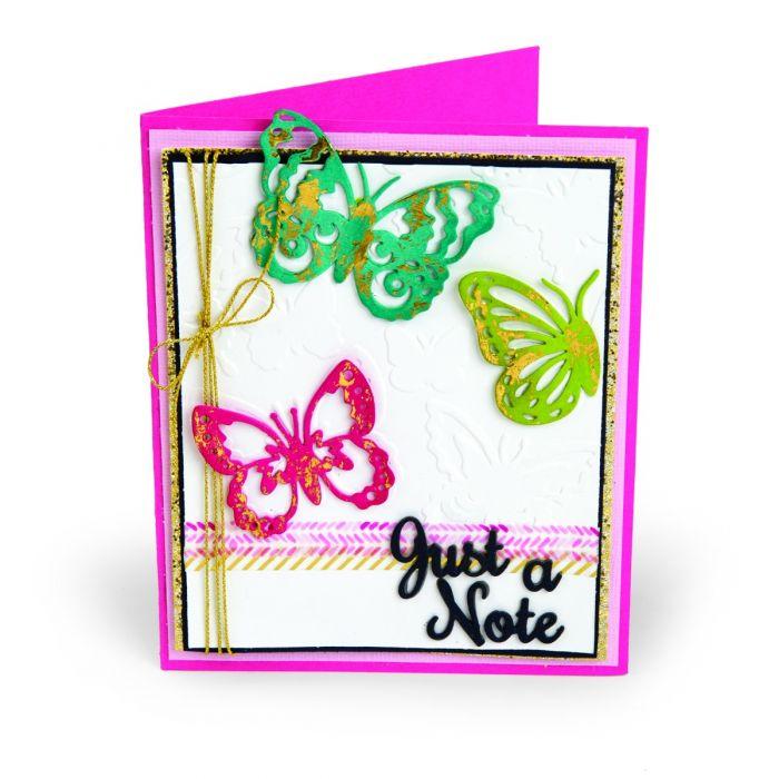 Just a Note Butterflies