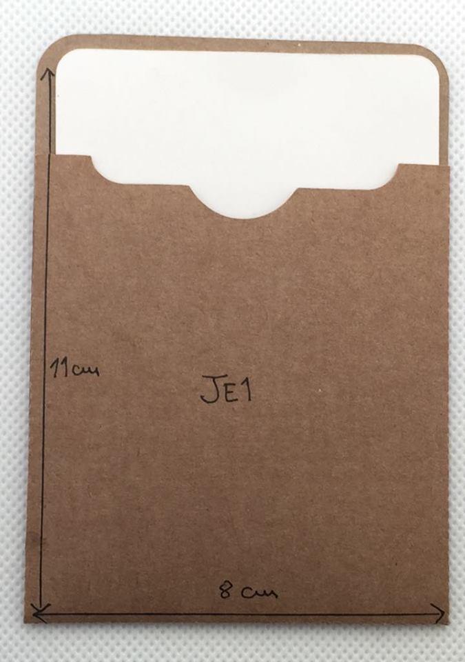 Envelope Kraft JE1