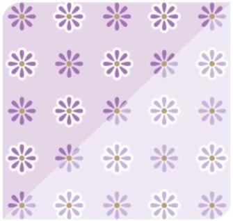 Flor Ice Lilás / Lilás Claro
