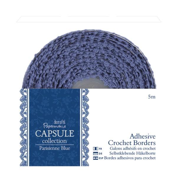 Fita Adesiva Crochet Parisienne Blue