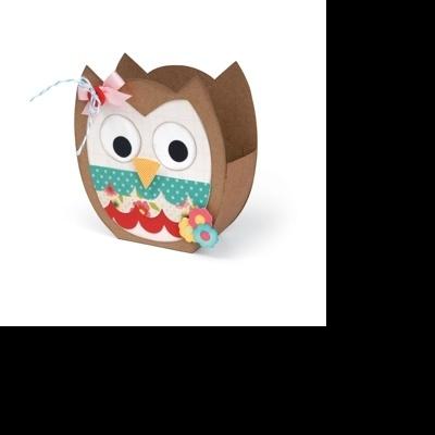 Bag, Owl by Lori Whitlock