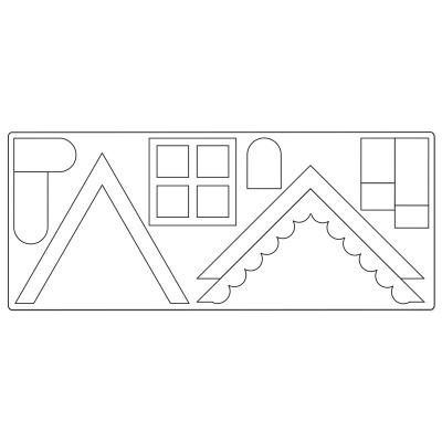 Village Buildings by E.L. Smith  Cortante Bigz XL  Marca: Sizzix