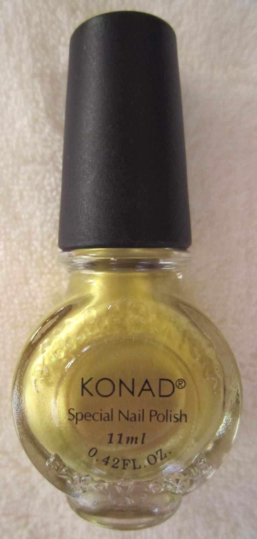 Tinta Konad Dourada 11 ml