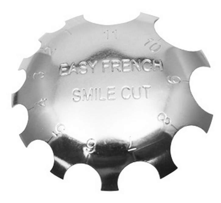 Placa de Francesa - Easy French Smile Cut