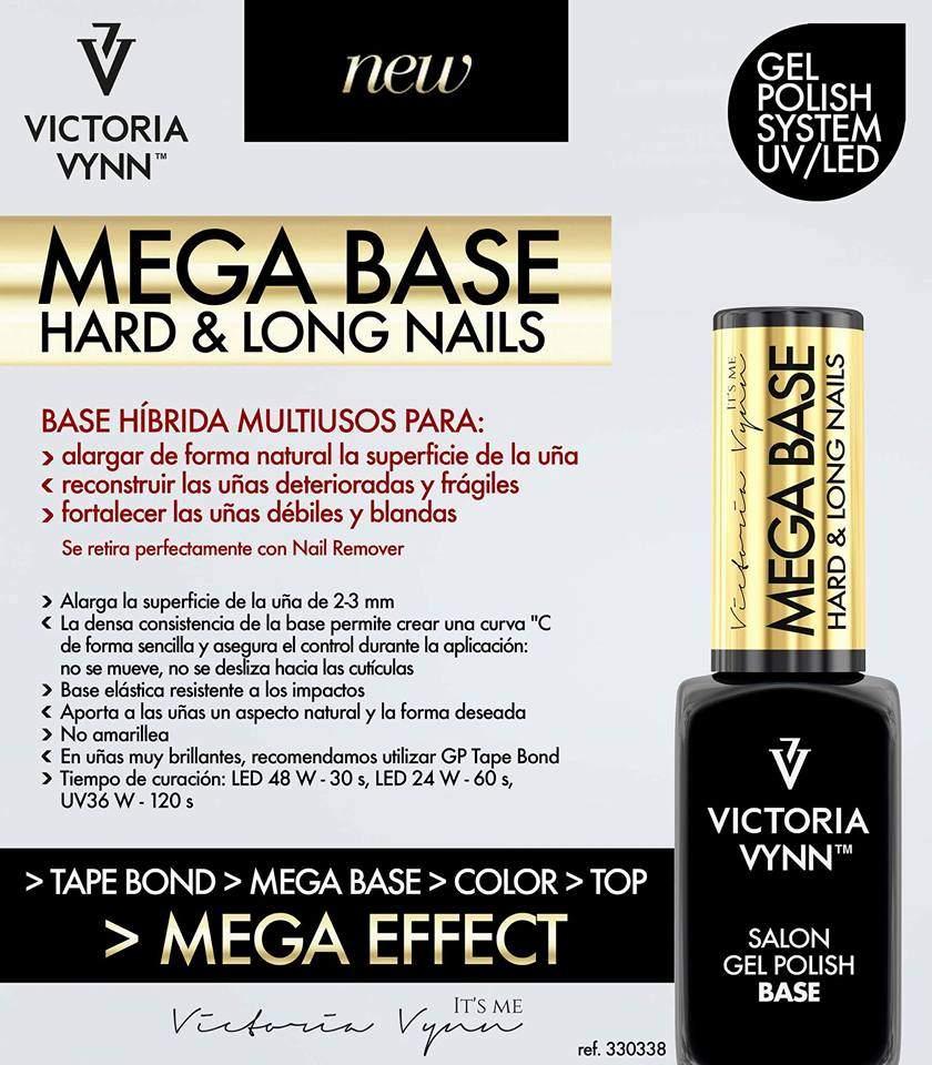 Victoria Vynn Mega Base Transparente - 8 ml