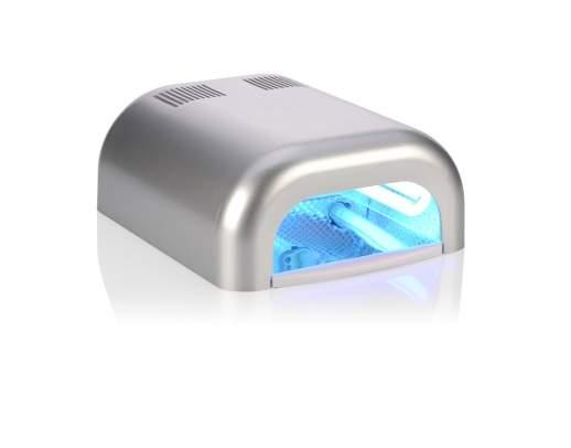 2 Catalizadores UV 36W Prateados - Usados