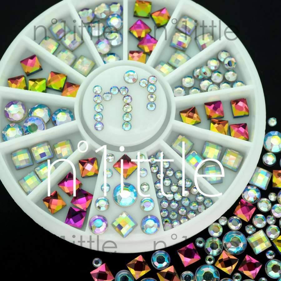 Rodinha Brilhantes com Reflexos de Cores