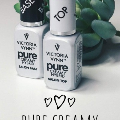 Kit Base e Top Coat - Gama Pure - Victoria Vynn