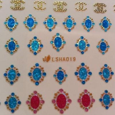 Autocolantes 3D Ovais - LSHA019
