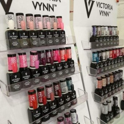Expositor de Balcão Victoria Vynn para 36 Frascos de Verniz Gel