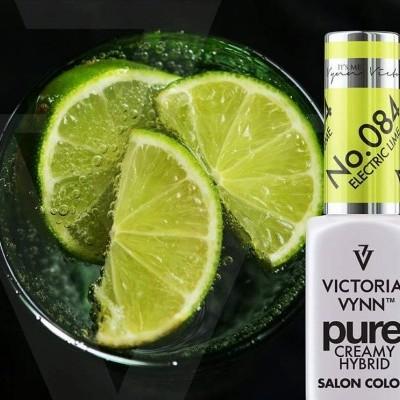 Victoria Vynn Verniz Gel Nº 084 - Electric Lime - 8 ml