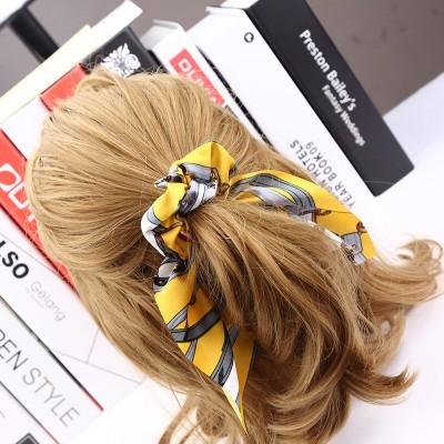 Scrunchie para o cabelo com Pérola - Modelo 2