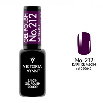 Victoria Vynn Verniz Gel Nº 212 - Dark Crimson - 8 ml