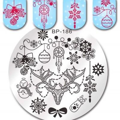 Placa BP-186 - Natal