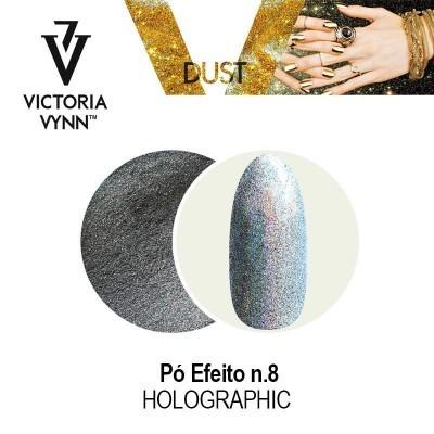 Victoria Vynn  - Pó de efeito Holográfico Nº 8 - 2 gr