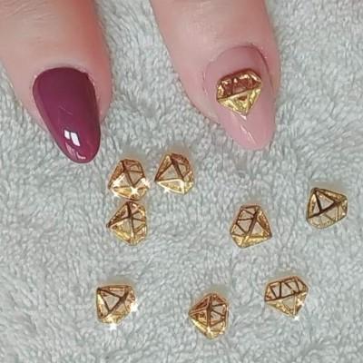 Diamante Dourado 3D