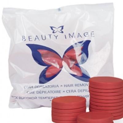 Cera Disco Vermelha - Beauty Image - 1 Kg