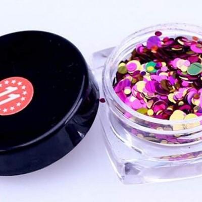 Confetis Bolinhas Coloridas Espelhadas - Nº011