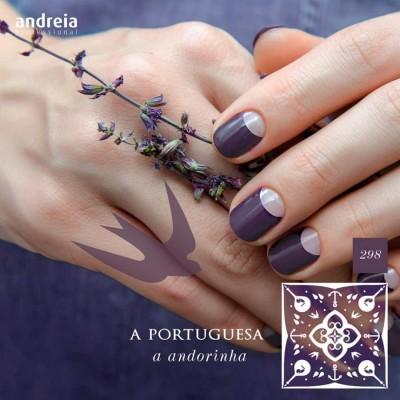 Verniz Gel Andreia 298 - A Andorinha