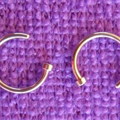 Piercings para Nariz Dourado