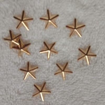 Estrelas Douradas 3D