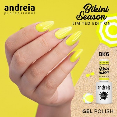 Andreia Bikini BK6 - Amarelo Neon
