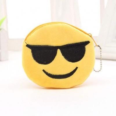 Porta-Moedas Emoji Óculos
