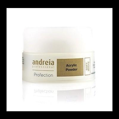 Andreia Profection Pó Acrílico - Soft White - 22 grs