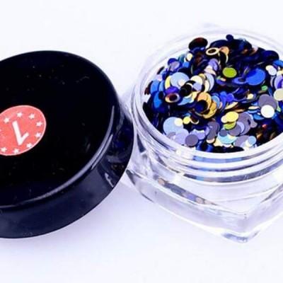 Confetis Bolinhas Coloridas Espelhadas - Nº 01