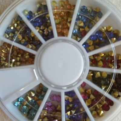 Rodinha Brilhantes 3D com Glitter